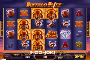 Review Slot Online Buffalo Blitz Playtech